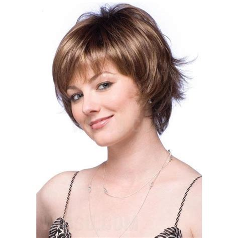 how to feather short hair gorgeous short feathered hairstyle synthetic hair capless