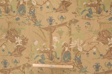 Upholstery Fabric Theme by All Designers Altizer Furio In Foliage Tapestry