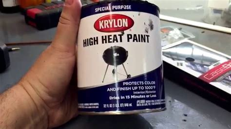 high colors high heat krylon paint