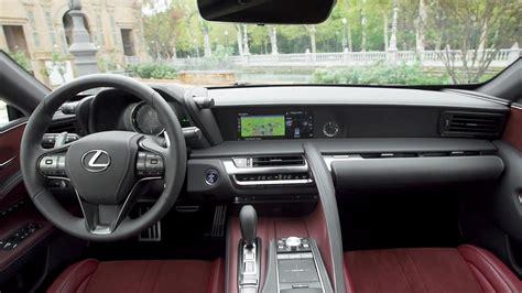 lexus lc interior 2018 lexus lc 500 interior