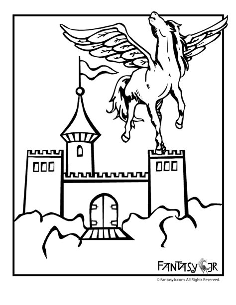 small castle coloring page coloring page of castle az coloring pages
