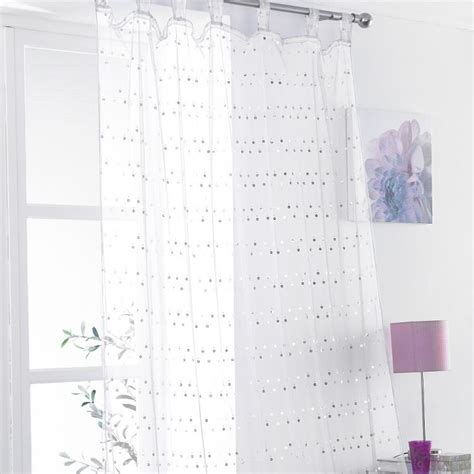 sequin curtain panel daisy sequin tab top voile curtain panel white