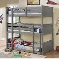 rc willey bunk beds gray casual classic triple twin bunk bed davidson rc willey furniture store