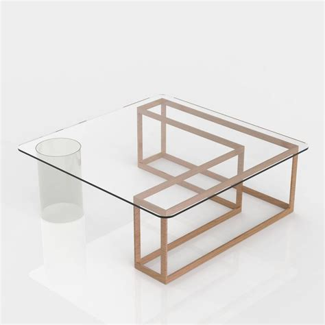 clear base table l nunki coffee table square oak base and clear glass for