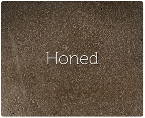 honed granite honed