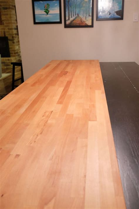 butcher block table top diy best 25 butcher block dining table ideas on