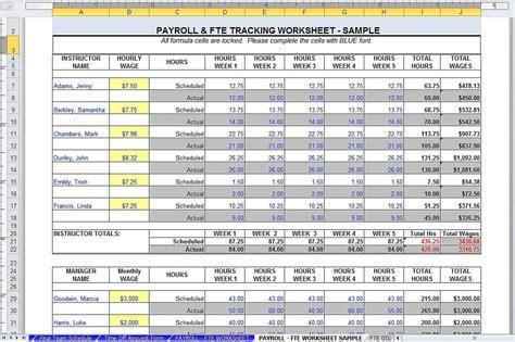 Sample Training Budget Template