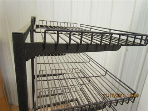 Wire Frame Shelving 4 Tier Adjustable Shelf Wire Frame Shelving Tray Rack