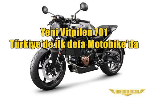 yeni vitpilen  tuerkiyede ilk defa motobikeda