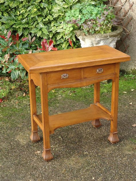 craft table with drawers arts crafts oak table with drawers antiques atlas