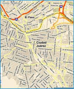 el paso maps el paso map tourist attractions travel map vacations