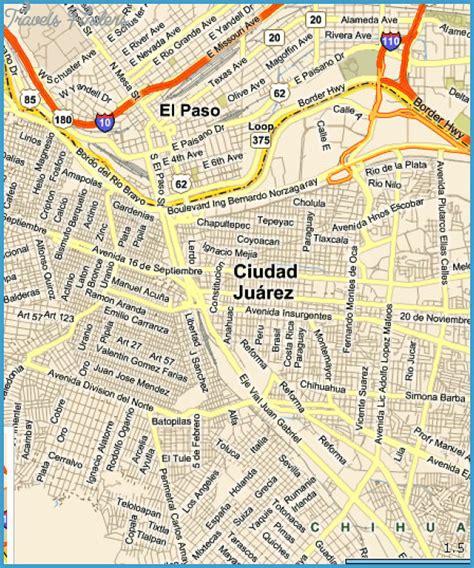 el paso map el paso map tourist attractions travelsfinders