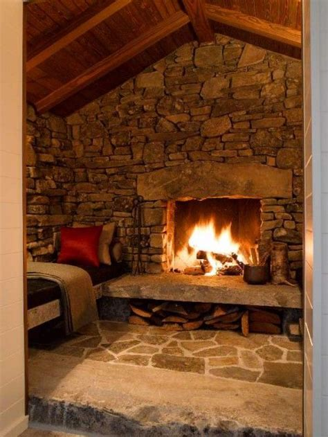 rustic fireplace design 38 rustic country cabins with a fireplace for a