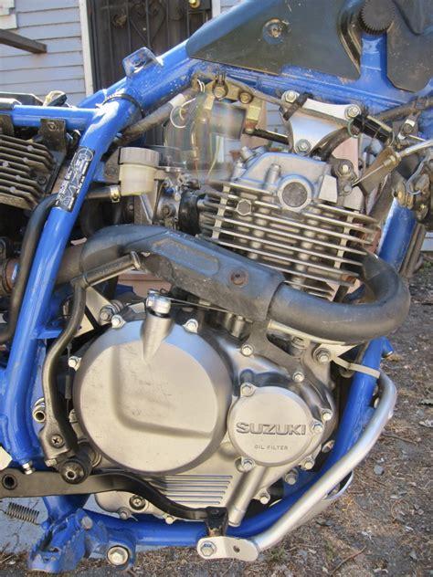 Suzuki Dr350 Engine Valve Check And Adjust Suzuki Dr350 Riders Recycle