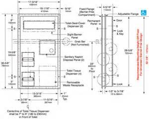 Seat Cover Dispenser Mounting Height Bobrick B 3571 Seat Cover Dispenser Sanitary Napkin