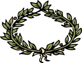 laurel leaf crown template laurel leaf crown template clipart best