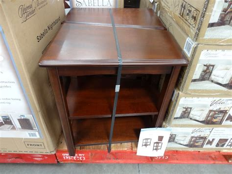 wedge end table costco universal furniture velo wedge tables costco house