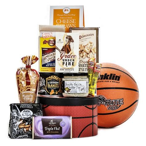 gifts for basketball fans basketball gift basket great gifts for basketball