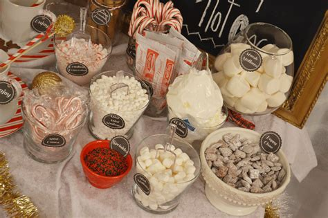 hot cocoa bar toppings all things pink and pretty day 11 diy hot chocolate bar