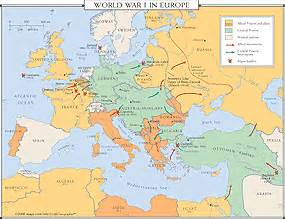 Europe Map After Ww1 by Map Of Europe After World War I Galleryhip Com The