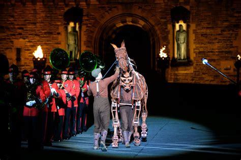 edinburgh tattoo discount tickets photos joey the war horse stars in edinburgh military