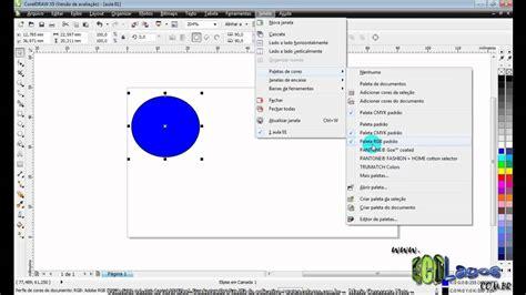 corel draw x5 reset default settings aula 02 conhecendo a area de trabalho do corel draw x5