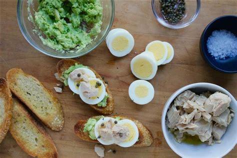 Pocky Avocado By B Grace avocado tuna and egg tartines today