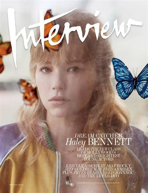 haley bennett marley and me haley bennett for interview magazine by mikael jansson