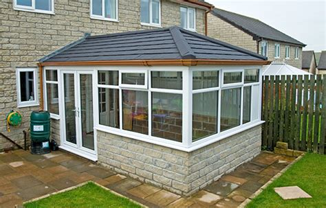veranda toit 4 pans high quality warm roofing in leicester gls windows