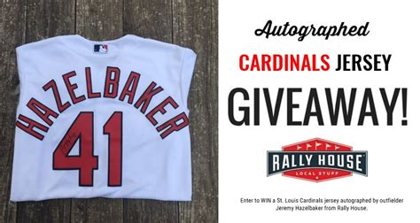 Cardinals Giveaways - rally house events
