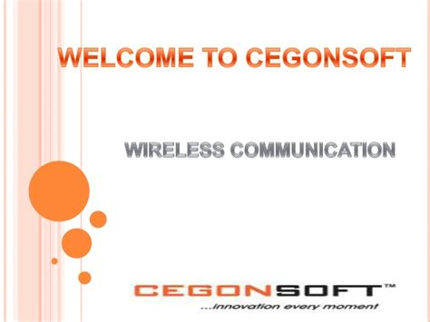 slides for ppt on wireless communication presentation wireless communication