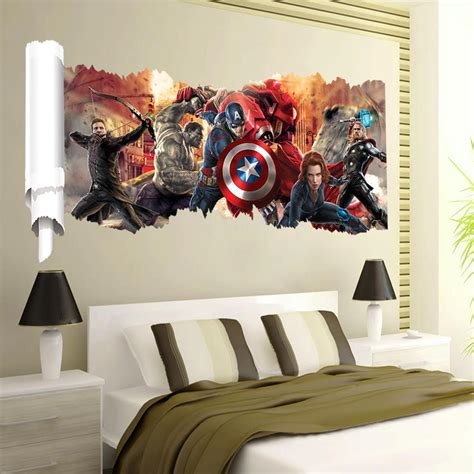 avengers popular super hero wall decal gift