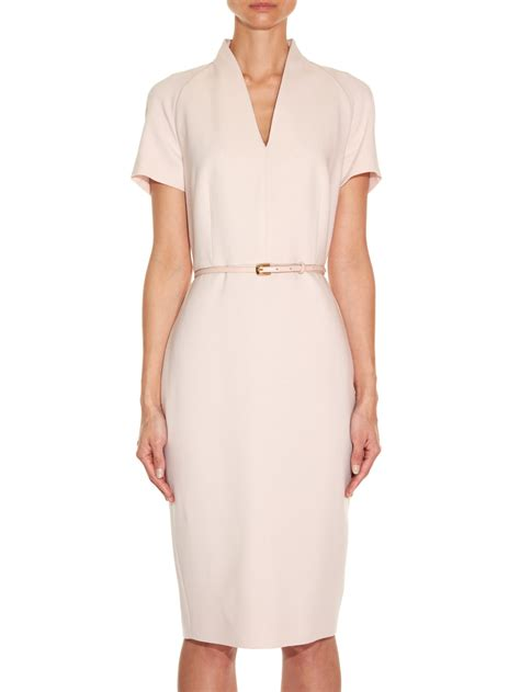 Dress Maxmara By Collection max mara curvato dress in pink lyst