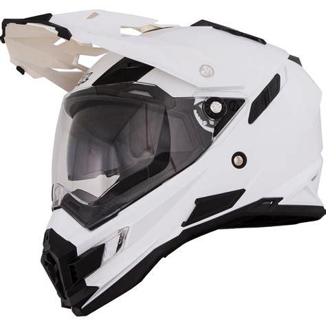 oneal motocross helmet oneal sierra adventure white dual sport helmet motorcycle