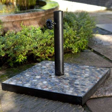 Diy Patio Umbrella Stand Patio Umbrella Stands Home Decorating Ideas