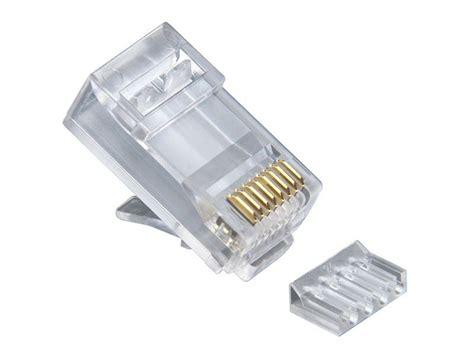 Conector Rj45 Cat 6 platinum tools rj45 8p8c cat6 2 pcround solid 3 prong