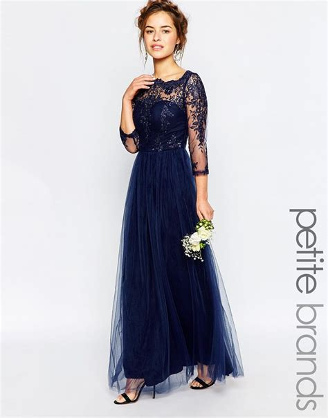 Grosir Baju Maxy Dress D image 1 of chi chi bardot lace maxi dress bridesmaid dresses lace
