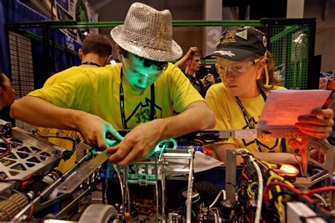 st louis mo 2015 hair show robotics booms in st louis as thousands of students