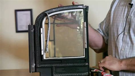 wood stove gasket replacement recommendation youtube