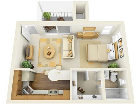 Apartments Best Small Studio Apartment Design With Interior Design For Studio Apartments