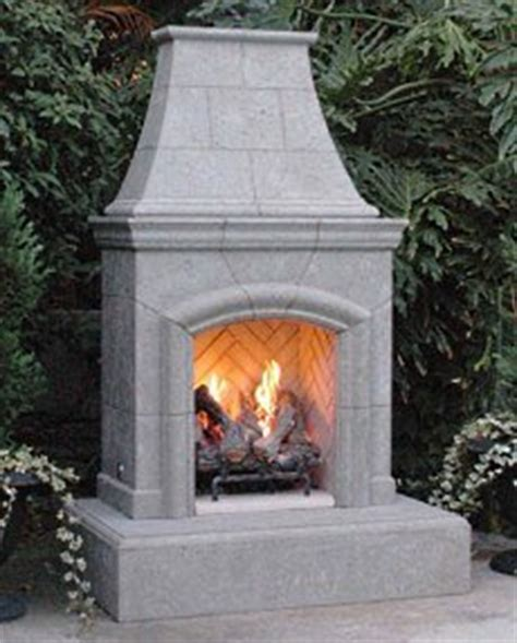 Prefab Fireplace Outdoor by Outdoor Gas Fireplaces Choices