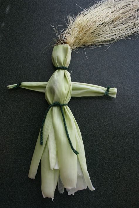 corn husk dolls easy corn husk doll craft is a and easy way to use your