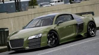 green audi r8 audi green