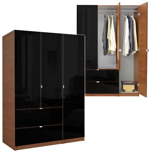 Door Armoire by Alta Wardrobe Armoire 3 Door Armoire Right Opening