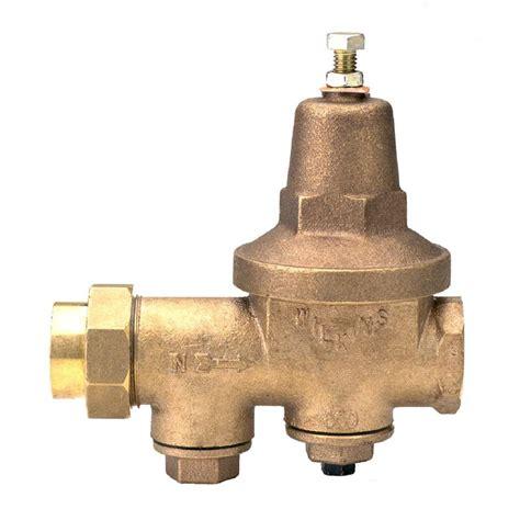 water pressure regulator zurn wilkins 2 in lead free bronze fpt x fpt water pressure reducing valve 2 600xl the home depot