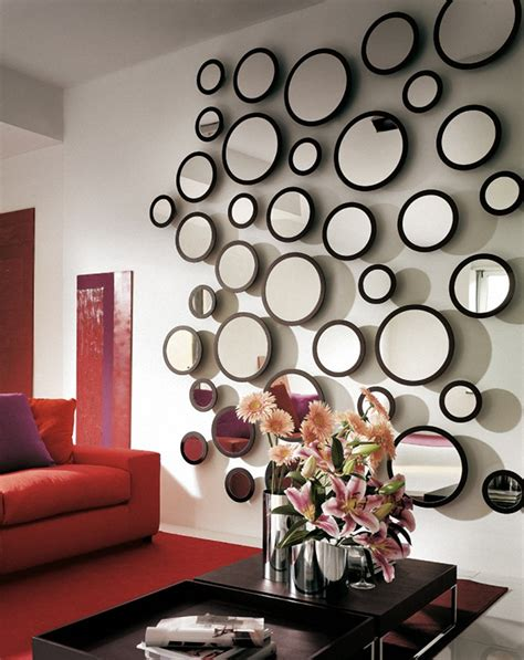 wall of mirrors 25 wall decoration ideas for your home