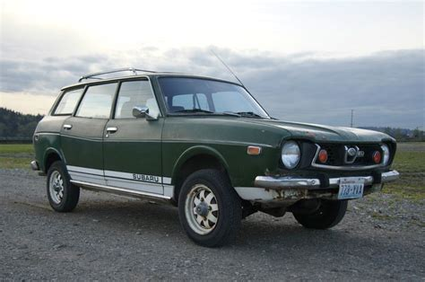 classic subaru wagon 1975 generation 1 subaru wagon 4wd subaru pinterest