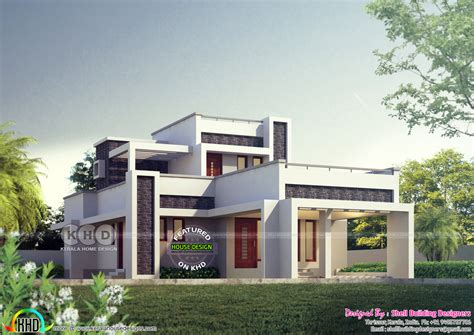 sq feet details facilities house sq feet flat roof 1766 square feet flat roof modern home kerala home