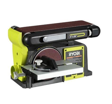 ryobi bench sander ryobi bd4601g belt disc sander tool 277696 h24 what s it