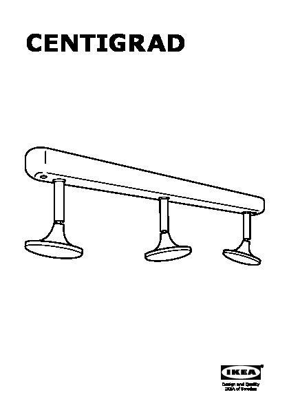 Montage Rail Plafond by Centigrad Rail Pour Plafond Led 3spots Ikea